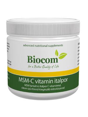 C vitamin, msm